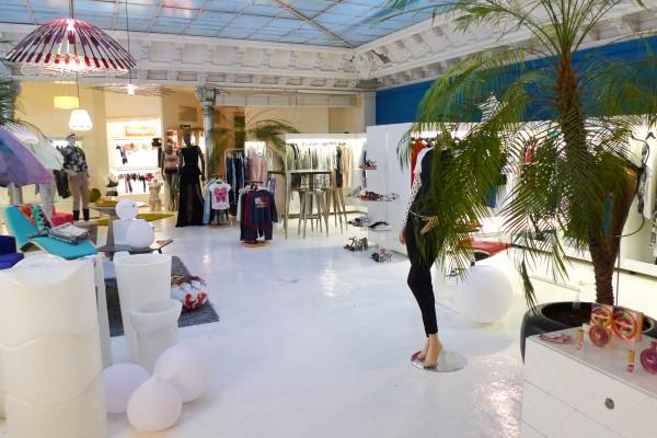 Le showroom de l'agence Poulain & Proust